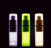 Flessen met parfum Royalty-vrije Stock Foto