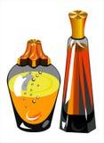 flessen parfum Royalty-vrije Stock Afbeelding