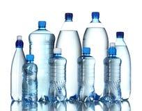flessen water Royalty-vrije Stock Foto