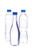 Flessen water Royalty-vrije Stock Foto's