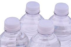 Flessen water Stock Foto's