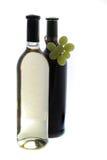 Flessen wijn Stock Afbeeldingen