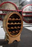 Flessen wijn Royalty-vrije Stock Foto's