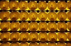 Flessen wijn Stock Foto