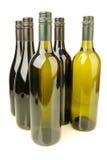 Flessen Wijn Royalty-vrije Stock Afbeelding