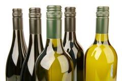 Flessen Wijn Stock Afbeelding