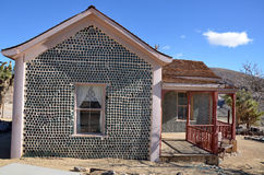 Flessenhuis in Ryoliet, Nevada, de V.S. Stock Afbeeldingen