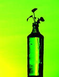 Flesseninstallatie stock afbeelding