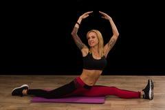 Flessibilità durante 40 anni Fotografie Stock