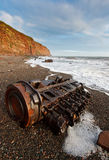 Fleswick Bay Stock Photography