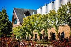 FLETCHER, NC 15 ottobre 2016 - sierra Nevada Brewery immagine stock