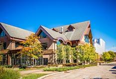 FLETCHER, NC 15 ottobre 2016 - sierra Nevada Brewery immagini stock libere da diritti