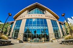 FLETCHER, NC Październik 15, 2016 - sierra Nevada browar obraz stock