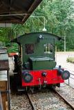 Flete la estación con el tren En julio de 2018 imagen de archivo