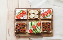 Fletley da alimento sano sano e immagini stock libere da diritti