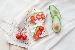 Fletley de la comida sana y sana imagen de archivo libre de regalías
