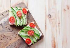 Fletley des aliments sains et sains images stock