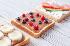 Fletley do alimento saudável e integral fotos de stock royalty free