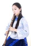 fletowy bambusa wykonawca Zdjęcie Royalty Free