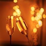 Flety szampan Obraz Stock