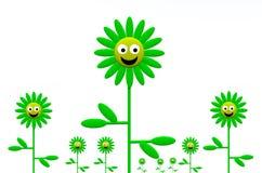 Fleur 16 illustration de vecteur