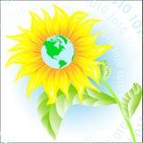 Fleur abstraite illustration libre de droits