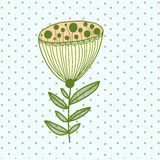 Fleur abstraite Illustration de Vecteur