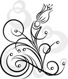 Fleur abstraite Images libres de droits