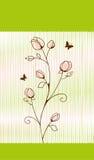 Fleur avec le backgroung Images libres de droits