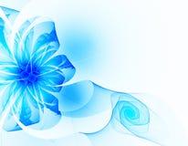 Fleur bleue Photo stock