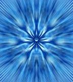 Fleur bleue mystique Photos libres de droits