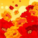 Fleur brillante Images libres de droits