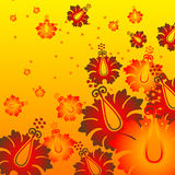 Fleur chaude Image stock