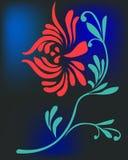 Fleur chinoise illustration libre de droits