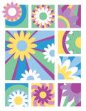 Fleur Collection_Youthful Illustration Libre de Droits