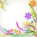 Fleur colorée Image stock