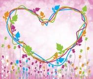 Fleur colorée illustration de vecteur