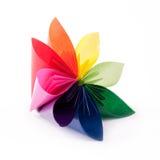 Fleur colorée pour le kusudama Images stock