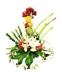 Fleur créatrice de colis Photo stock