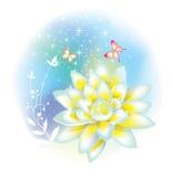 Fleur décorative Photographie stock