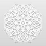 Fleur décorative, mandala Illustration Stock
