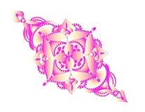 Fleur décorative rose Images stock