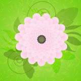 Fleur d'été illustration de vecteur