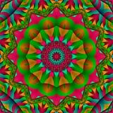 Fleur d'étoile de satin Image libre de droits