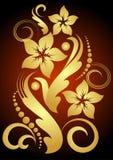 Fleur d'or Photos libres de droits