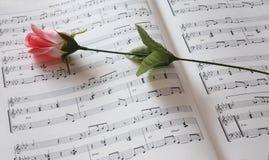 Fleur d'abd de musique Photo stock