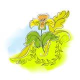Fleur d'abstraction Photographie stock libre de droits