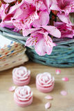 Fleur d'Alstroemeria Photo stock
