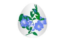 Fleur d'oeuf de pâques Photos stock
