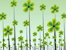 fleur dans l'abstrait   illustration de vecteur